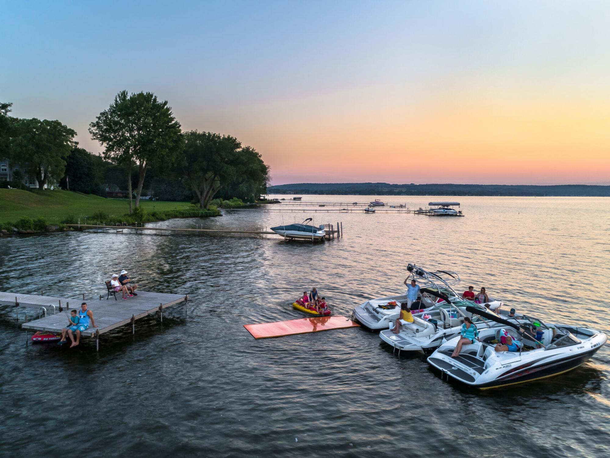 Banner image of Chautauqua Lake on a beautiful day