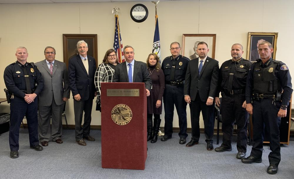 Federal, State, County and Local Leaders Call for Criminal Justice Reforms