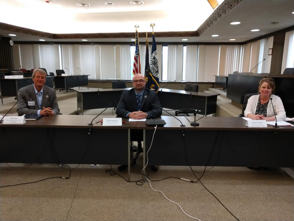 County Officials Provide Update on COVID-19